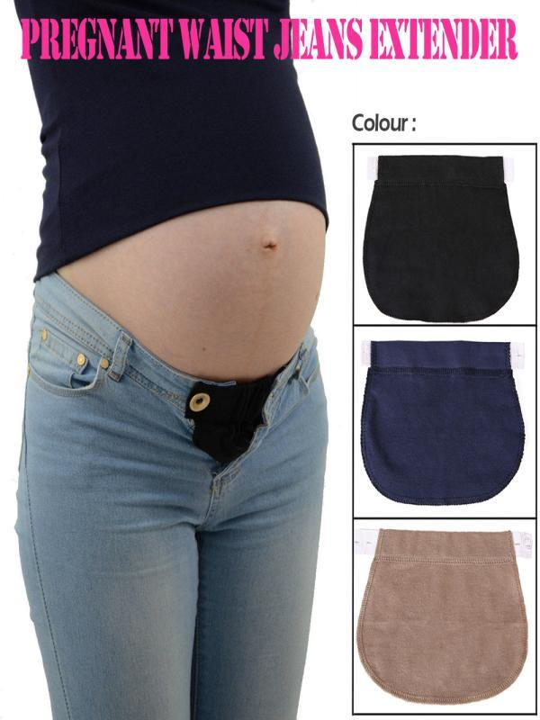 f0baadb9adfff Maternity Pregnancy Waistband Belt Elastic Waist Extender Pants -buy at a  low prices on Joom e-commerce platform