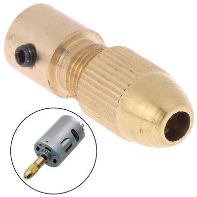 New 3.17mm Electric Motor Shaft Mini Chuck Fixture Clamp 0.3-3.5mm Drill Bit Kit