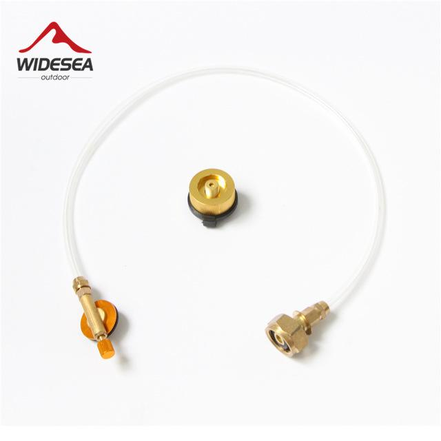 Widesea Outdoor Propane Stove Camping Gas Refill Adapter Burner LPG Flat  Cylinder tank Coupler-buy at a low prices on Joom e-commerce platform