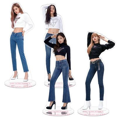 Blackpink Members Acrylic Action Figure Doll Lisa Rose Jennie Standing Table Toy Buy At A Low Prices On Joom E Commerce Platform