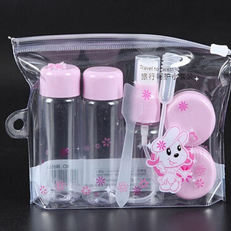 Портативный хранения женщин лосьон моды духи шампунь контейнер составляют путешествий бутылку набор косметики – купить по низким ценам в интернет-магазине Joom