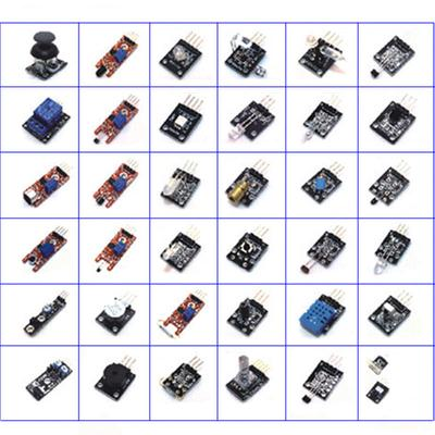 37 In 1 Sensor Modules Kit With Case Suitable For Arduino & MCU Education  User