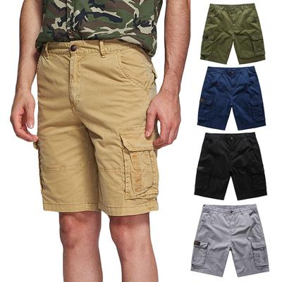 Cotton Shorts Camouflage Trouser Loose Cargo Pants Beach Combat Men/'s Clothing