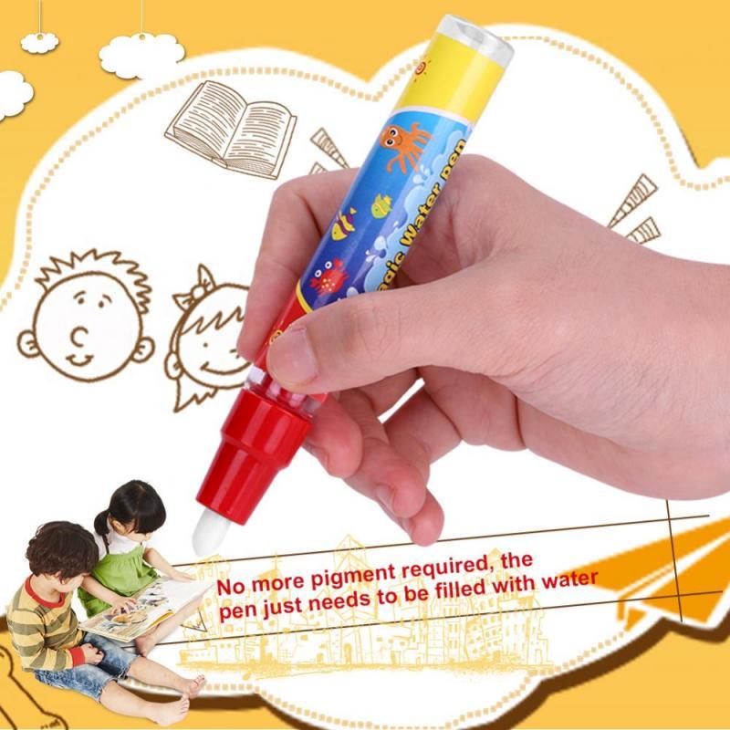2pcs Canetas Doodle Board Childrens Magnético De Desenho Doodle Canetas Pintura Graffiti