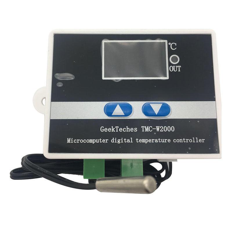 50-300C Molette Réglable Contrôleur De Température Interrupteur AC 250V 16A