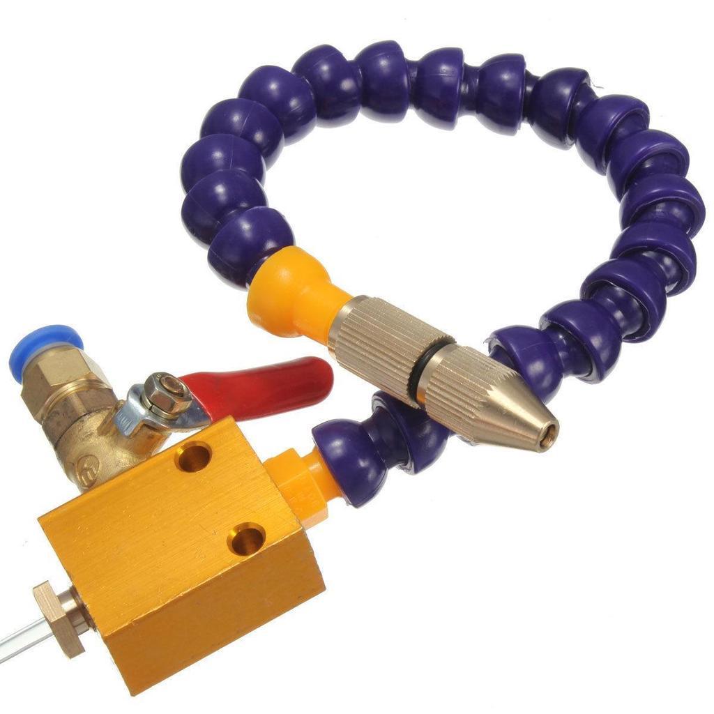 1pcs Kühlmittel Schmierung Sprüh System für 8mm Luft Rohr CNC Drehmaschine XY