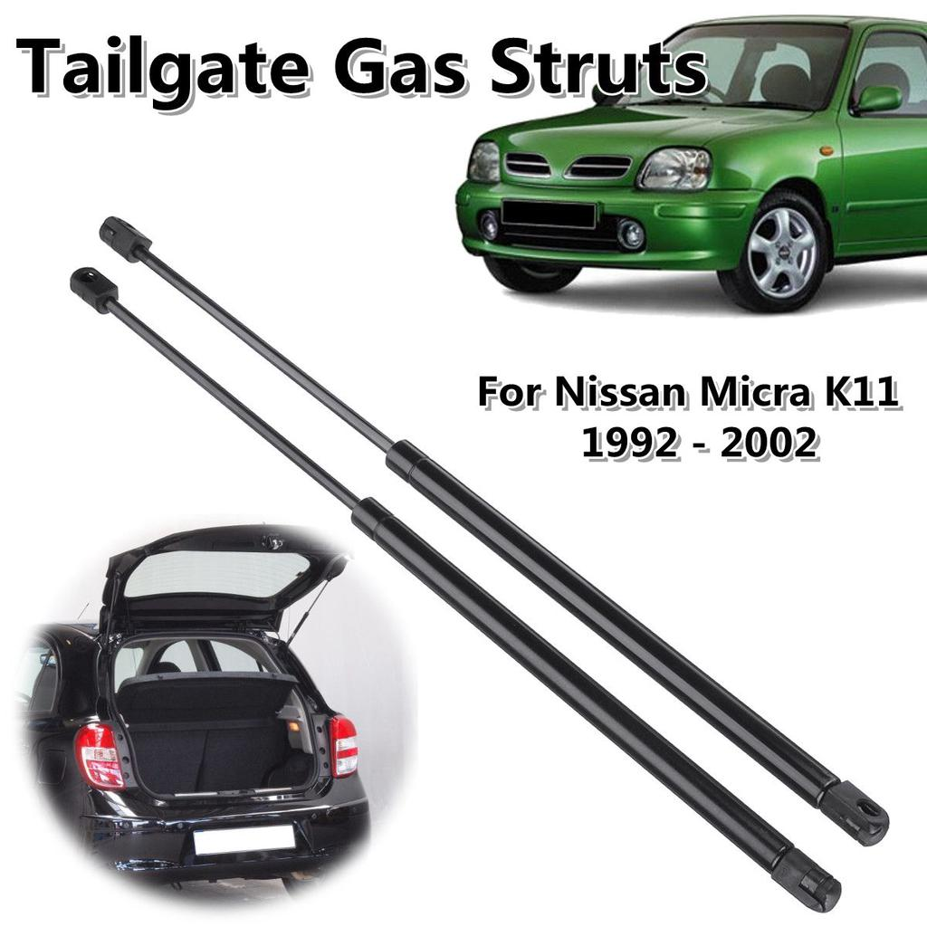 Auto Damper Accessories for Nissan Micra K12 Hatchback 2002-2010 Trunk Shocks Struts Lift Support Bars Telescopic Arm Rod JABL 2Pcs Car Boot Gas Springs Rear Tailgate Hood