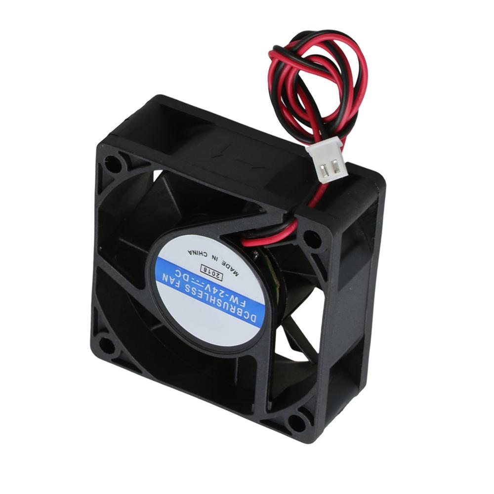 2Pieces Ultra-Silent 24V 40mmx40mmx10mm 4010 DC Brushless Cooling Fan for 3D Printer