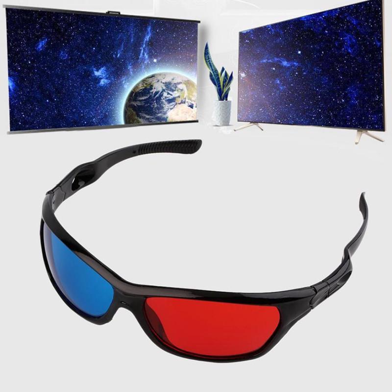 abaf7350a6 Gafas 3D universales marco blanco rojo azul 3D anaglíficos para la película  del juego DVD Video TV - comprar a precios bajos en la tienda en línea Joom