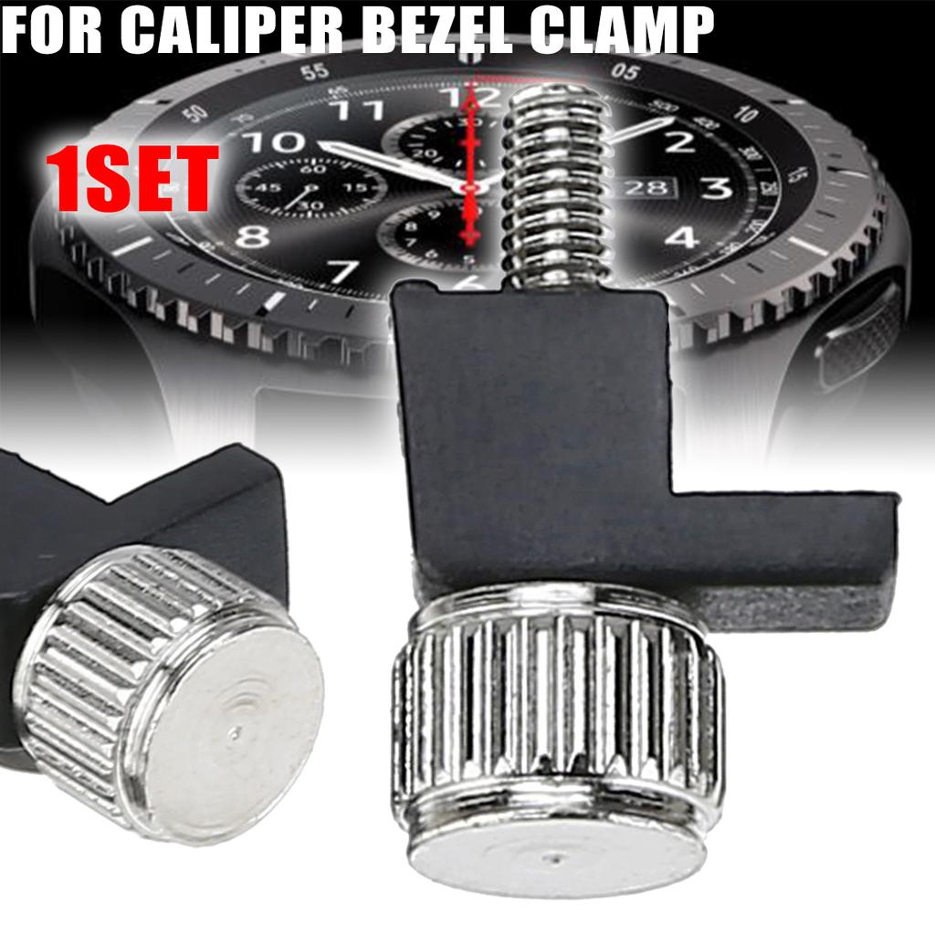 1 set Dial Caliper Washer Bezel Clamp 05BAA112 With Screw for Mitutoyo 505 New