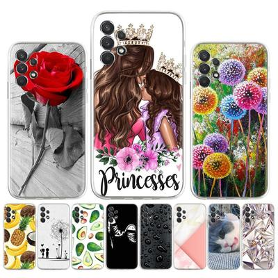 Soft Silicone Case for Samsung A32 A52 A72 Cover for Samsung A52 A72 A32 SM-A526B SM-A526B/DS SM-A725F/DS Painted Patterned Phone Bumper