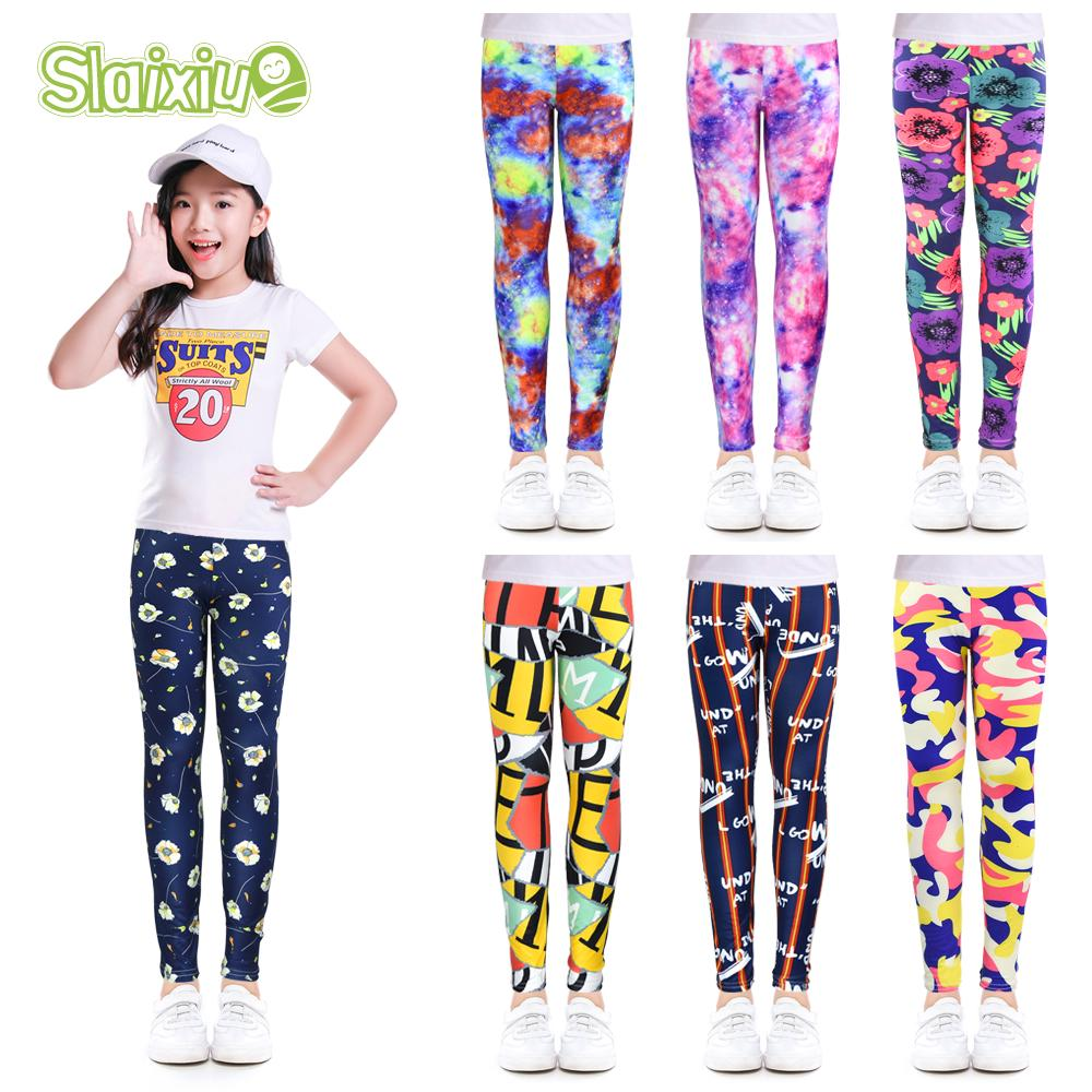 toddlers childs clothes 9 months floral print spandex kids play pants leggings baby clothes