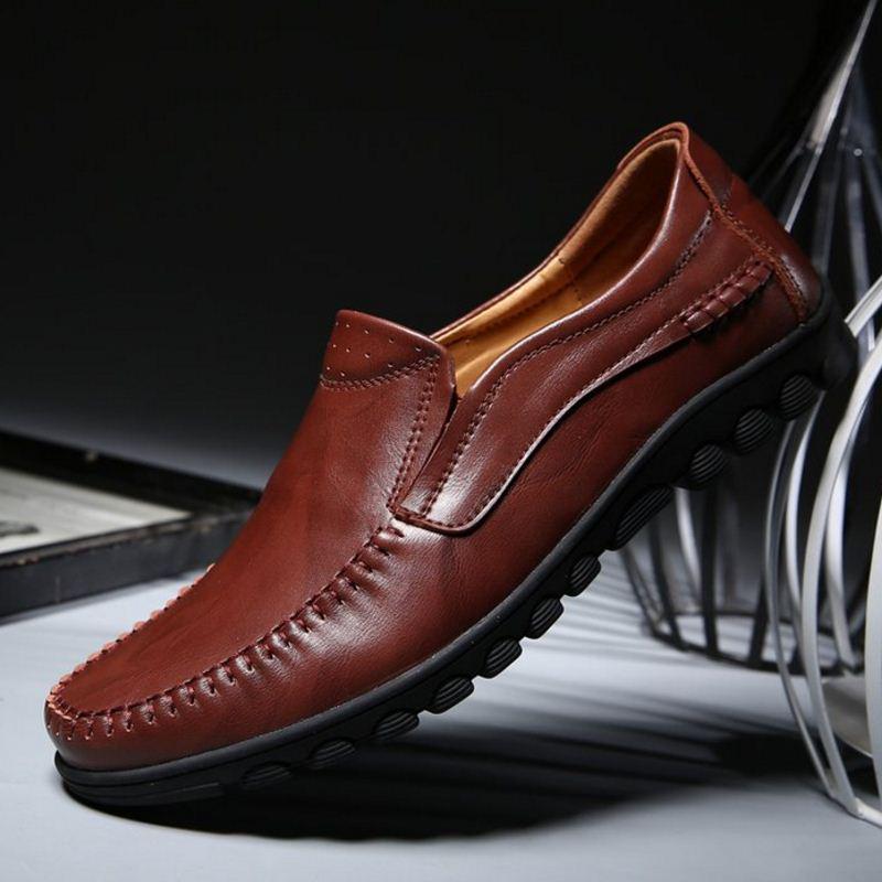 En Deslizarse Suela A Talla Zapatos 44 Mocasines Hombres 38 Suave xzw6Fqnw8