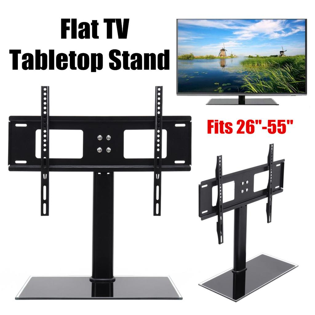 "Universal Replacement Bracket TV Stand Tabletop TV Base Stand Mount F 26-65/"" TVs"