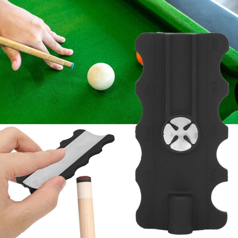 Billiard Snooker Pool Stick Club Cue Tip Radian Shaper Grinding Repair Tool 1PCS