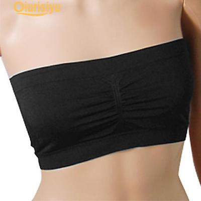 ff8e5be64a Beauty Women Fashion Summer Strapless Boob Tube Top Padded Bandeau ...