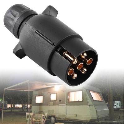 Fabulous 12V 7 Pin Electric Trailer Plug N Type Plastic 7 Pole Wiring Wiring Cloud Oideiuggs Outletorg