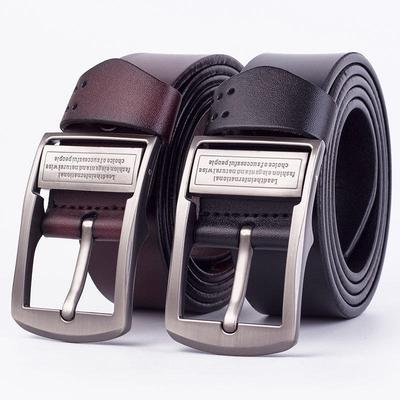 Mens Belt Luxury Style Real Leather Pretty Cool Fall Belts for Men