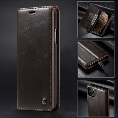 L-FADNUT for Samsung Galaxy A50 Wallet Flip Case,Leather Folio A50 Case Carbon Fibre Full Protective Card Holder Magnetic Clasp Kickstand for Samsung Galaxy A50 Black