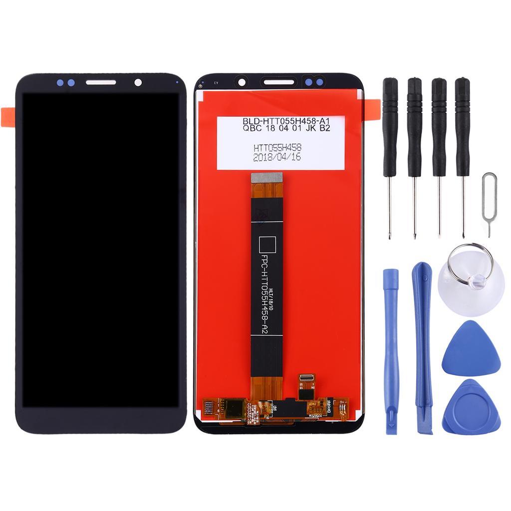 LCD экран и дигитайзер Полная сборка для Huawei Y5 Prime (2018) (Черный) купить недорого — выгодные цены, бесплатная доставка, реальные отзывы с фото — Joom