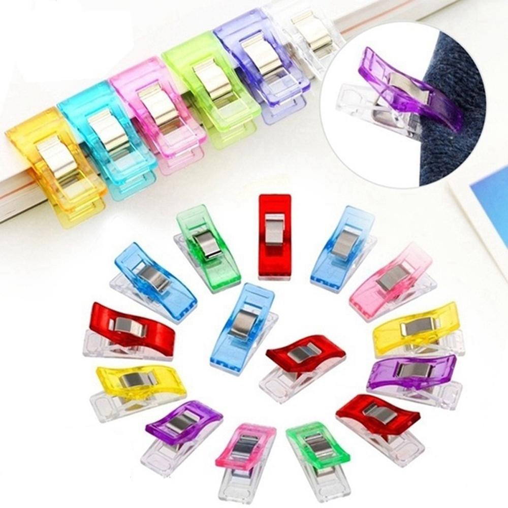 10pcs mixed Patchwork Sewing Plastic Clip Quilting DIY Craft Knitting Clips