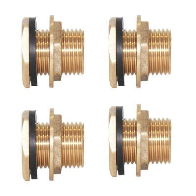 """4 1//2/"""" Water Tank Hose Connector Cistern Pipe Fittings Joiner Coupler DN15"""