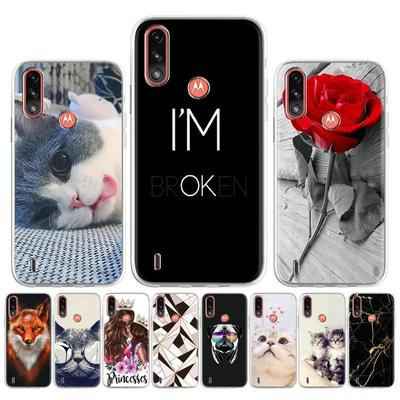 Soft Silicone Case for Moto Edge S G9 Play G Stylus 2021 E7 Power Case for Moto G30 G9 Plus Cover Painted Flower Animal Cute Patterned Phone Bumper