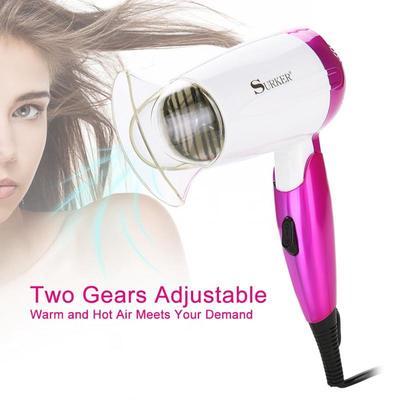 Hair Dryer Portable Electric Folding