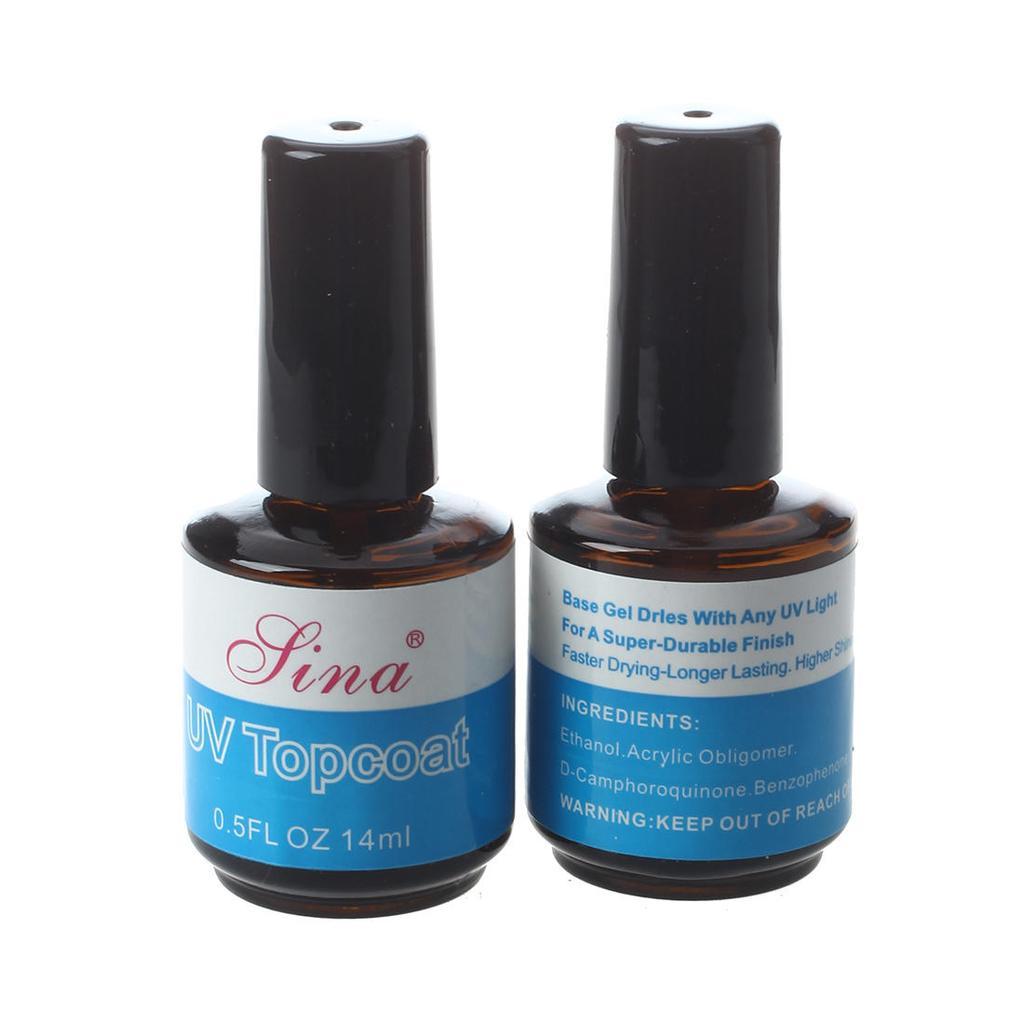 2 Kit Nail Enamel UV gel nail decoration false manicure-buy at low ...
