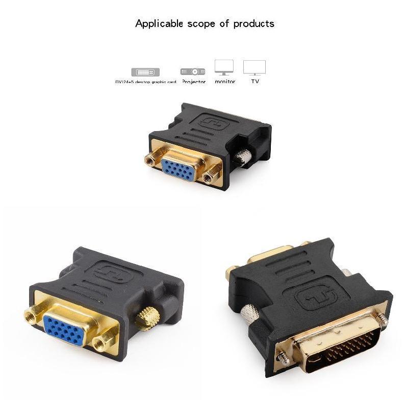 DVI Female F//F 24+5Pin Gender Changer Adapter Coupler Extender DVI-A DVI-D DVI-I