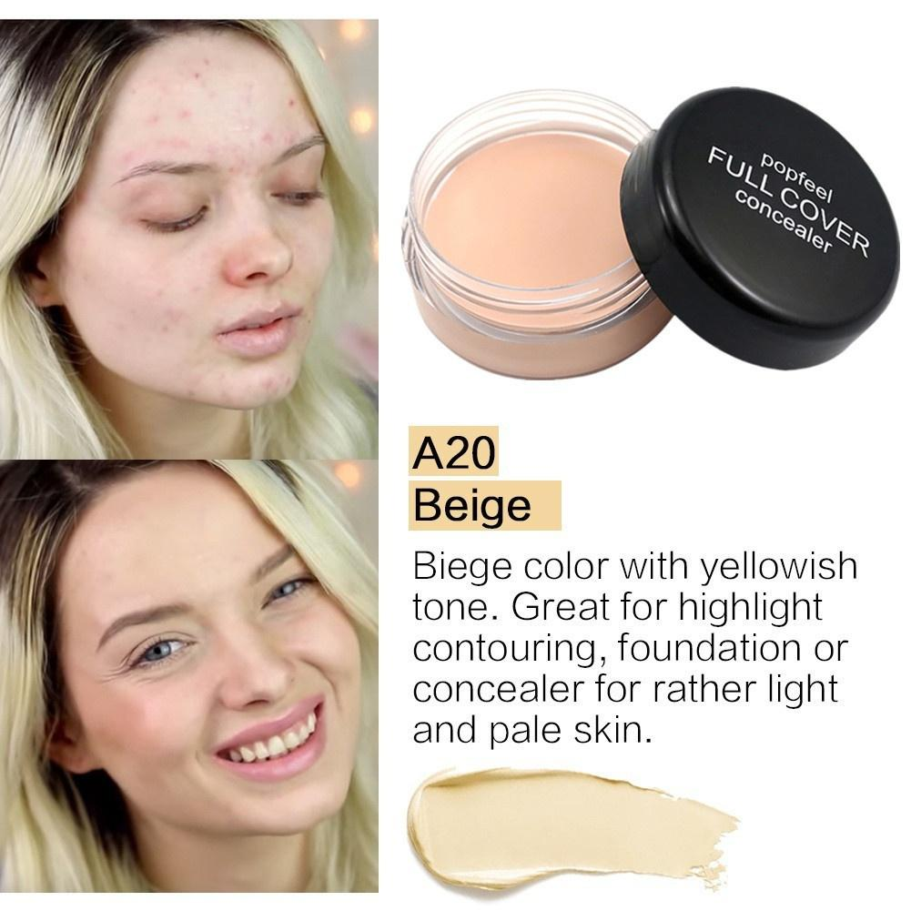 Sace Lady Full Coverage Cream Flawless Concealer Face Contouring 1 Of 12