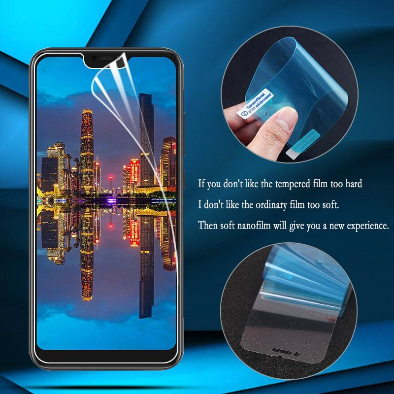 Защитные ПЭТ Мягкая пленка для Iphone Xiaomi Mi A2 Nokia 3.1 Meizu U10 LG Moto OPPO Экран защитник фото