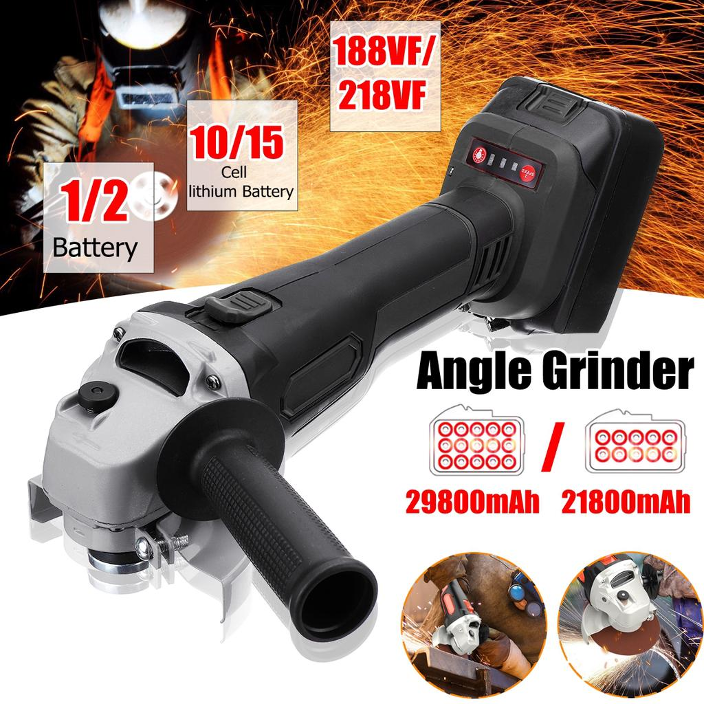 "820w Angle Grinder 115mm 4.5/"" inc Cutting Grinding Disc Guard /& Side Handle 240v"
