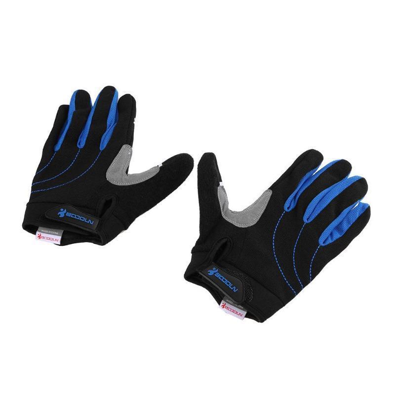 Cycling Gloves Men Full Finger Bike Motorcycle Sponge Pad Outdoor Sports Gear