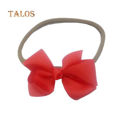 7PCS Baby Girl Gilt Bow Hair Band Rabbit Ear Headband Hair Accessories Head Wrap