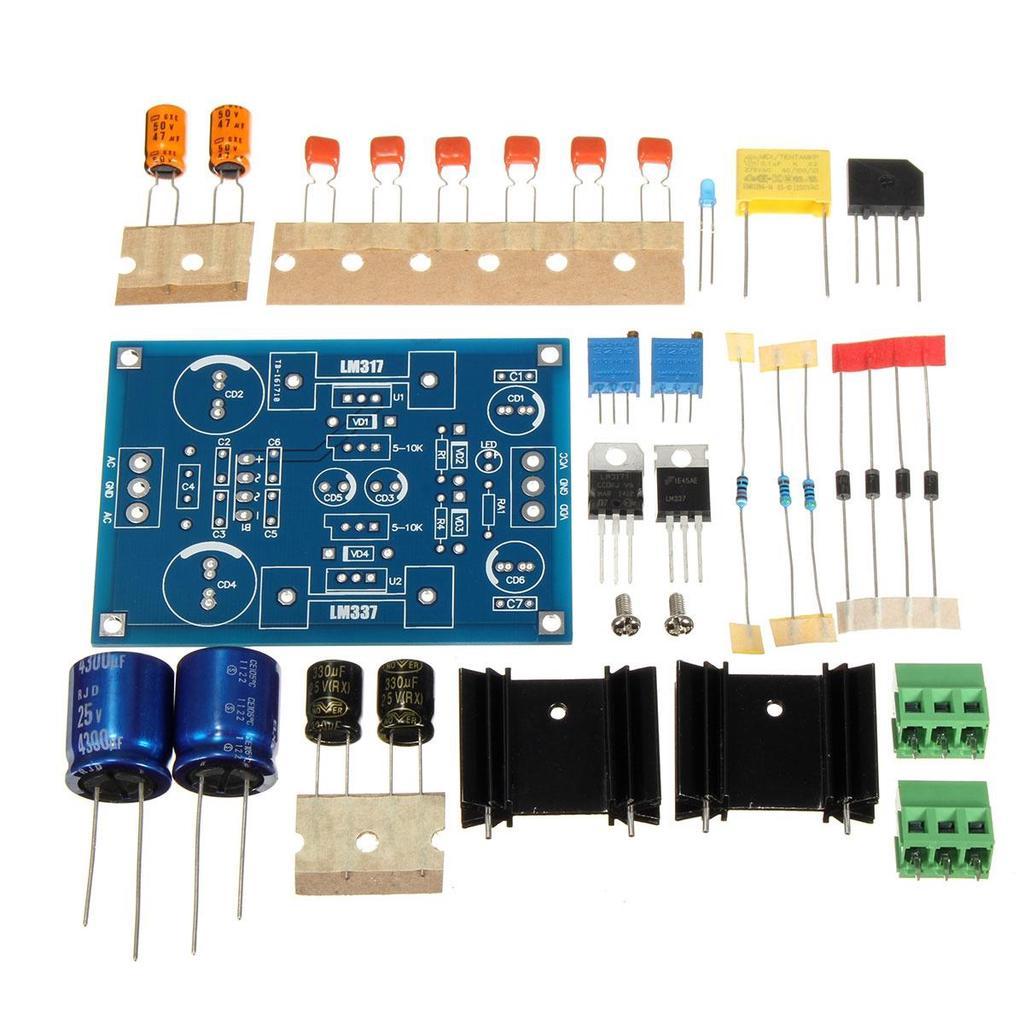 Lm317 Lm337 Adjustable Filtering Power Supply Module Kit Voltage Picture Of Variable Regulator Filtered Linear 1 8