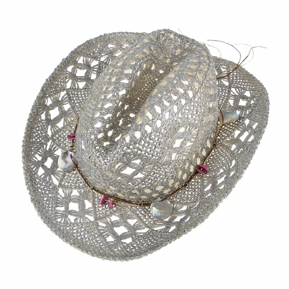 eefad9781dd2c Sombreros de moda disco playa para mujeres lentejuelas sombreros de ...