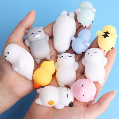 Squishy Cute Cat Antistress Squeeze Mochi Rising Abreact Soft Sticky Stress Relief Funny Gift Toy