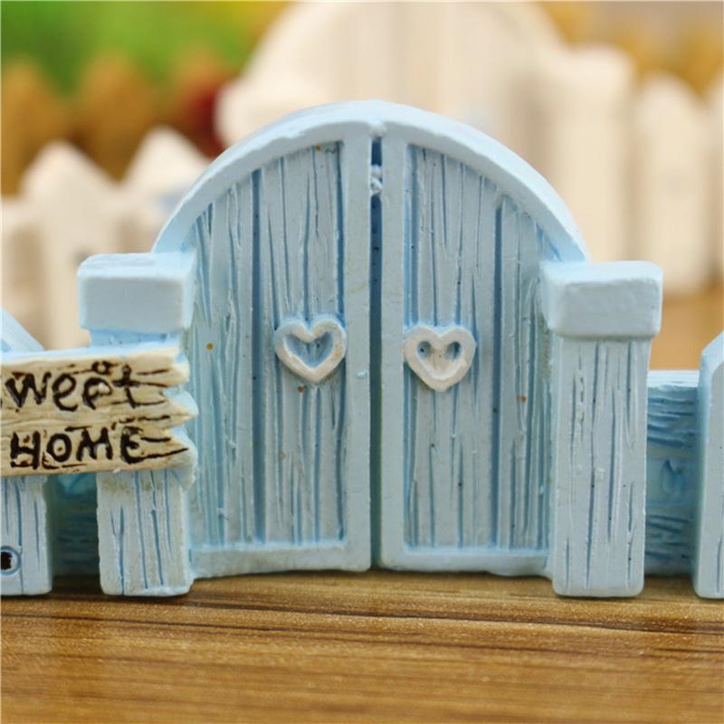 Микроландшафтный забор деревянный забор DIY смола дизайн процесс миниатюрный сказочный сад хижина пейзаж – купить по низким ценам в интернет-магазине Joom