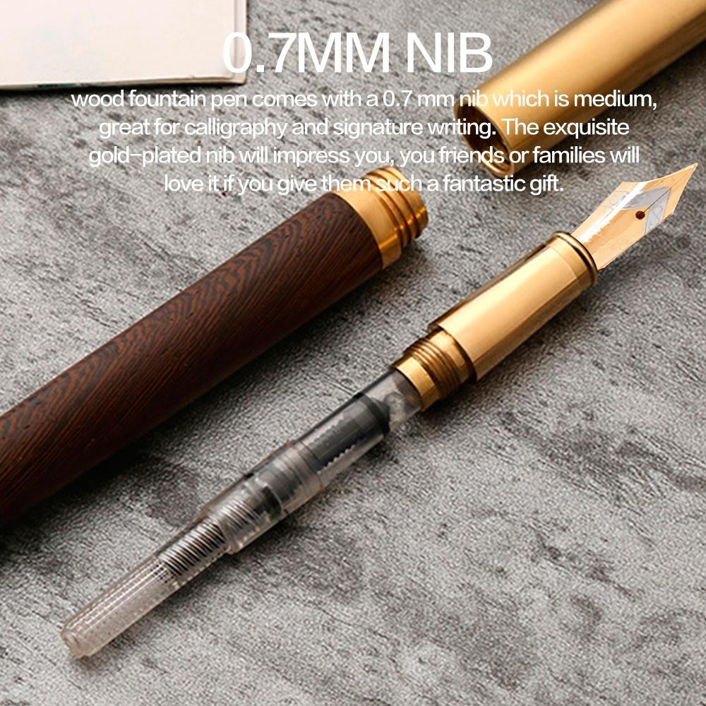 Vintage Fountain Pen 0.5mm Nib Calligraphy Pen School Office Supply Gift #5