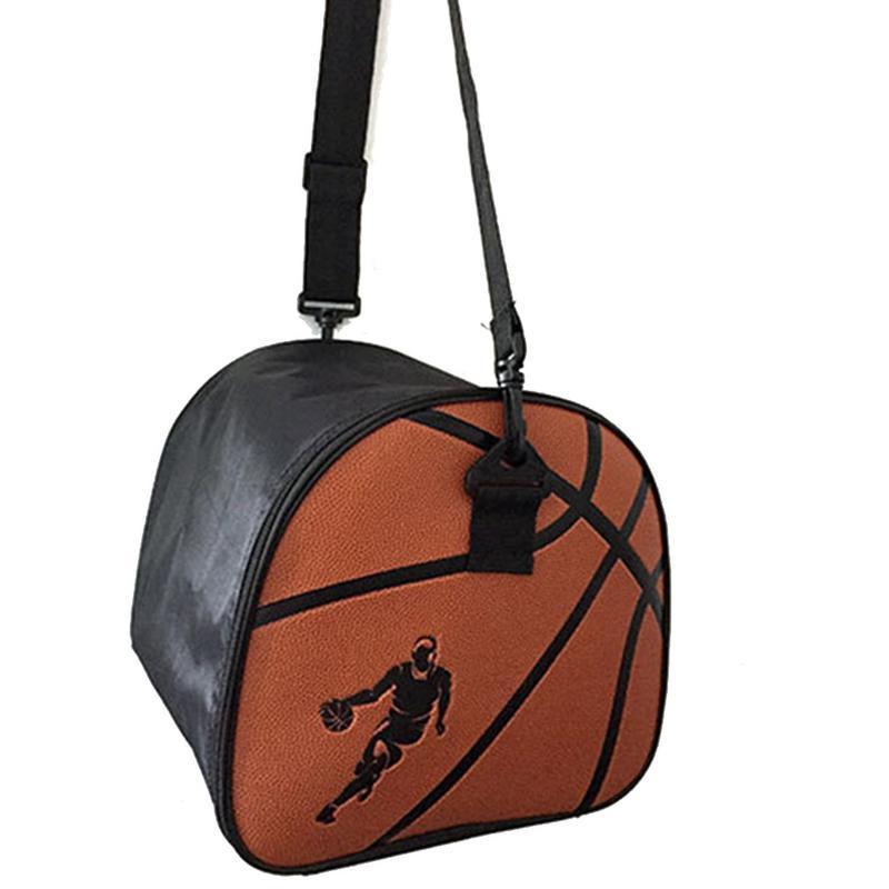Basketball Bag Soccer Football Volleyball Ball Bag Holder Carrier Black