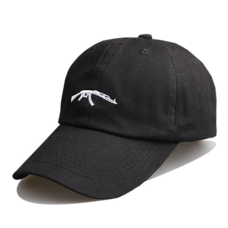帽子夏天纯棉防晒遮阳新款刺绣手枪棒球帽速卖通eaby敦煌淘宝货源