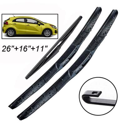 Rear Wiper Arm Blades For Renault Clio Mk2 1998 To 2005 R S