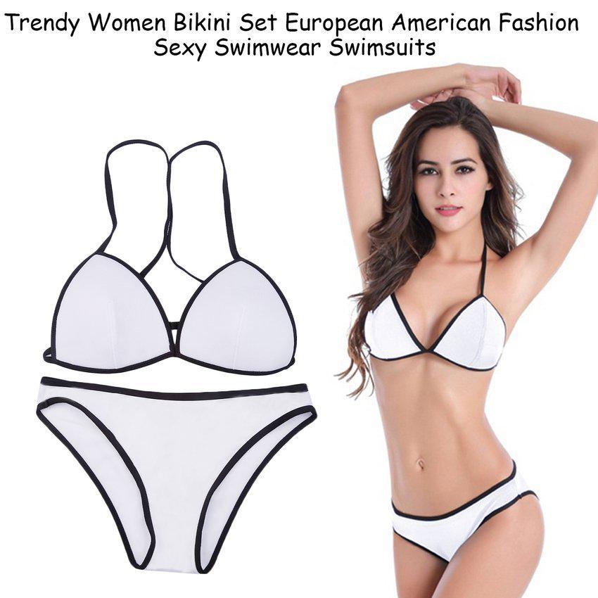Bikini women bikini set european american fashion sexy swimwear swimsuit BQ