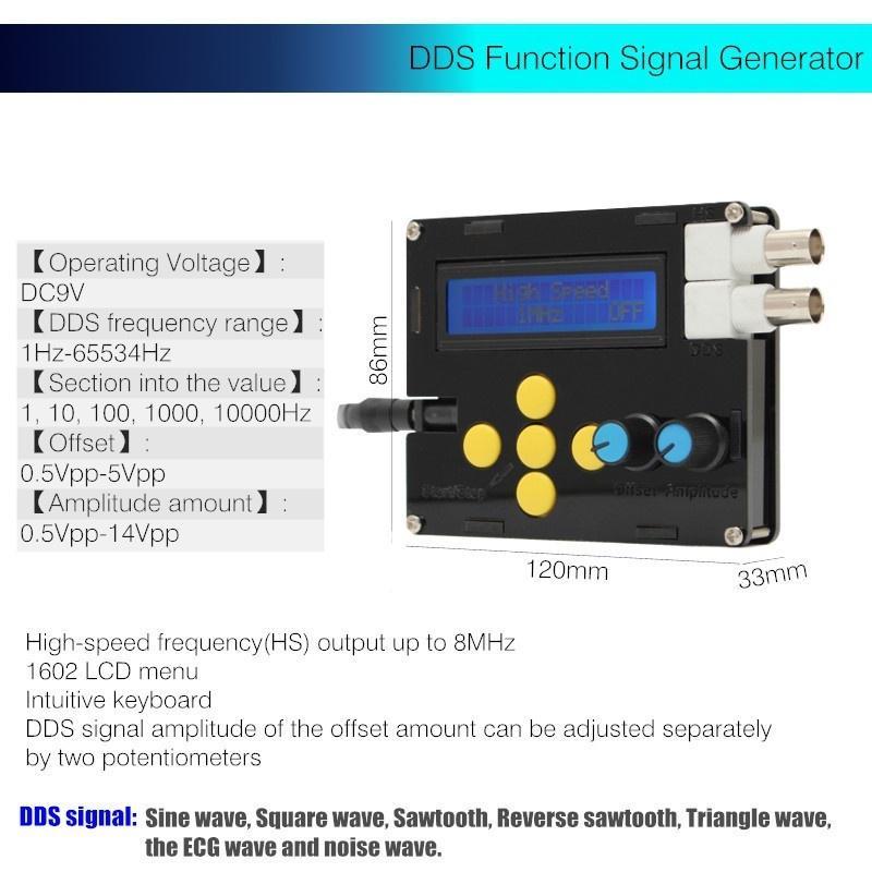 Sägezahnwelle Signalgenerator Dreieck Funktionssignalgenerator Niederfrequenz