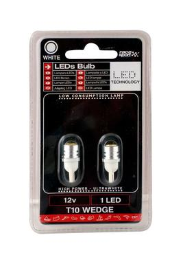 Sumex 10 Ampoules Wedge 12V 18W T15 W2.1X9.5D