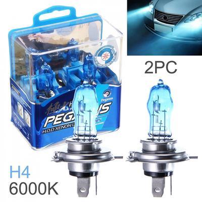 2PCS H1 12V 100W Super Bright White Halogen Head Lights Lamp Bulbs Auto Car