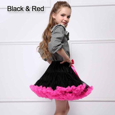 27ed25e1d ... 0 10 Years Toddler Baby Kid Girls Princess Skirt Fluffy Pettiskirts  Tutu Dress Petticoat Dance