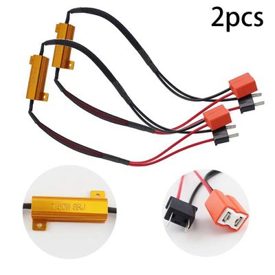 Decoders Resistance Lamps Decoder 50W Load Resistor Fog Lamps Decoder H7  Headlight Load Resistor