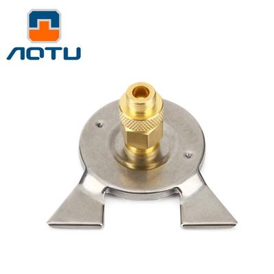 Outdoor Stoves Camping & Hiking Bright Camping Stove Adapter Three-leg Gas Stove Transfer Head Adaptor For Nozzle Gas Screwgate